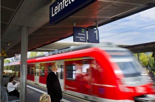 Auf der Filderbahnhof-Strecke sollen auch Fernzüge fahren - das sorgt für Streit Foto: Max Kovalenko