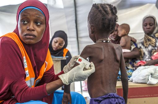 1,4 Millionen Kindern droht Hungertod
