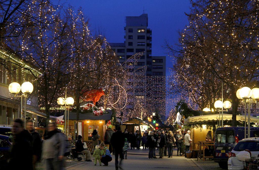 Eröffnung Weihnachtsmarkt Stuttgart 2019.30 Tage Lang Haben Die Menschen Beim Ludwigsburger Weihnachtsmarkt