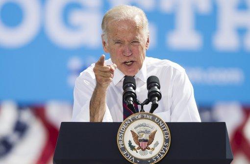 Joe Biden droht Russland mit Rache