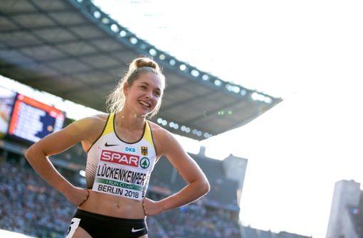Gina Lückenkemper sprintet ins Finale