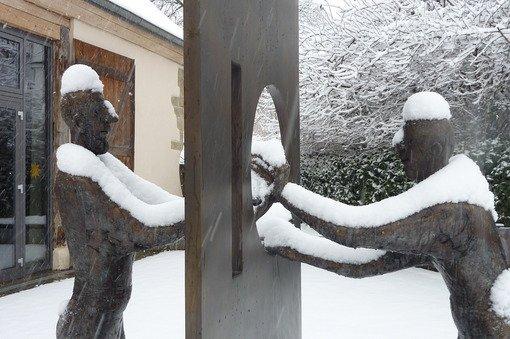 Knackige Kälte, dichte Schneepracht - der Winter zeigt sich in Stuttgart und Region von seiner schönen Seite. Hier eine Aufnahme aus Stuttgart-Stammheim. Klicken Sie sich durch die Bildergalerie unserer Leserfotografen: Foto: Leserfotograf hechi