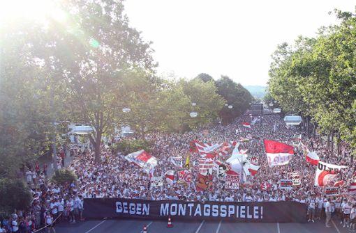 Mehrere Tausend Teilnehmer werden auch an diesem Samstag bei der 13. Karawane Cannstatt erwartet. Foto: Pressefoto Baumann