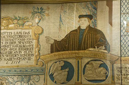 Um das Leben hierzulande zur Zeit Luthers geht es im Vortrag im Landratsamt. Foto: dpa-Zentralbild