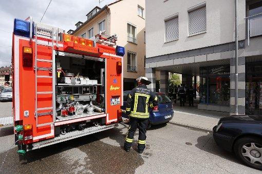 Kellerbrand in der Botnanger Bücherei
