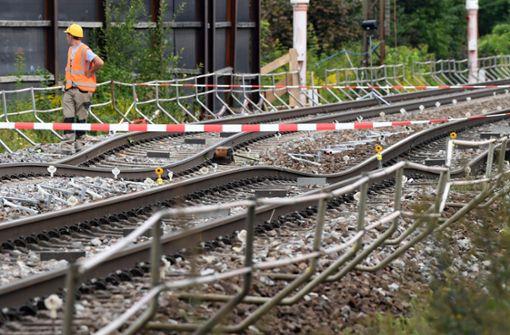 Stadt und Anwohner aus Rastatt kritisieren die Bahn