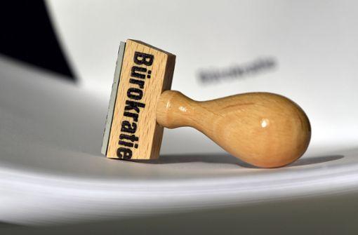 Die Bürokratie ernährt sich  selbst