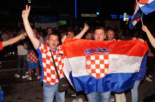 Nächstes Kroatien-Spiel: Polizei sperrt wieder Teile von Stuttgart