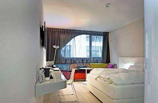 Hotel test jaz in the city stuttgart eine nacht im for Designhotel jaz stuttgart