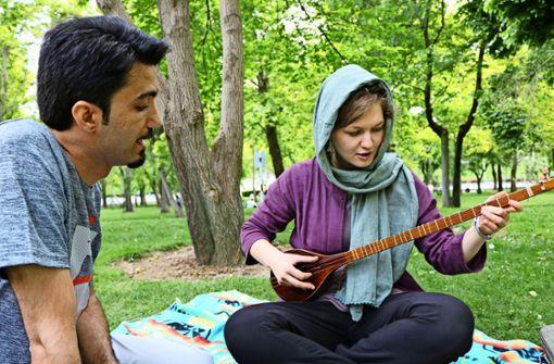 Im Iran ist ihr Selbstbewusstsein gewachsen