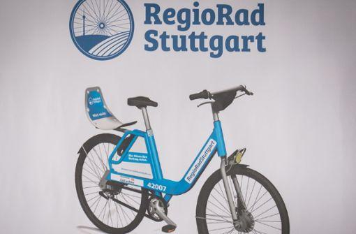 Die neuen blauen Leihräder werden zum 1. Mai in Stuttgart erwartet. Foto: Lichtgut/Achim Zweygarth