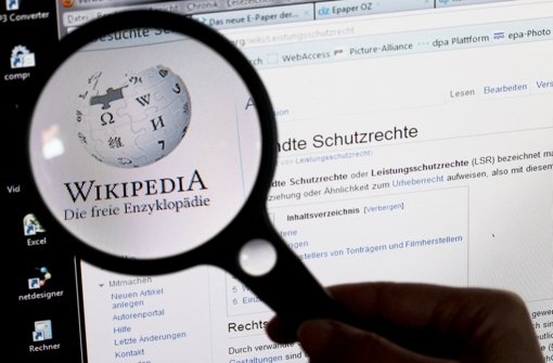 Nur jeder zehnte Autor beim Internetlexikon Wikipedia ist eine Frau. Foto: dpa-Zentralbild