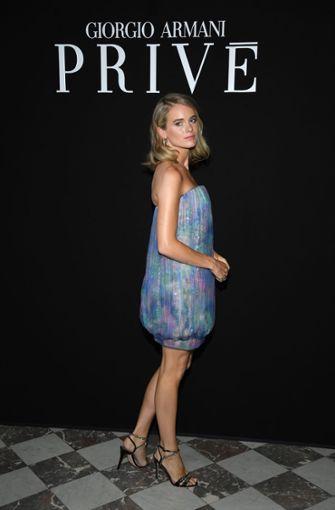 Bei Armani war die Promidichte hoch: Cressida Bonas, die Ex-Freundin von Prinz Harry Foto: Getty Images Europe