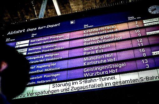 Region erhöht S-Bahn-Strafen