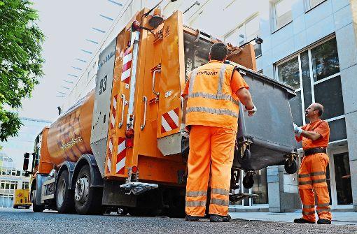Hoher Krankenstand bei Müllwerkern