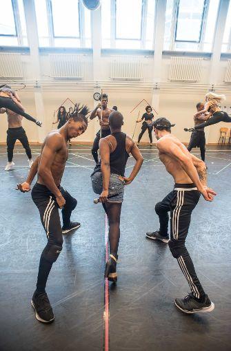 Öffentliche Probe des Musical Bodyguard, das am 28. September in Stuttgart Premiere feiert Foto: Lichtgut/Max Kovalenko