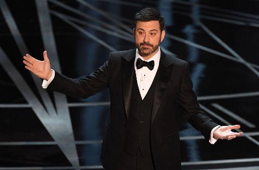Jimmy Kimmel wagt sich erneut an Oscar-Moderation