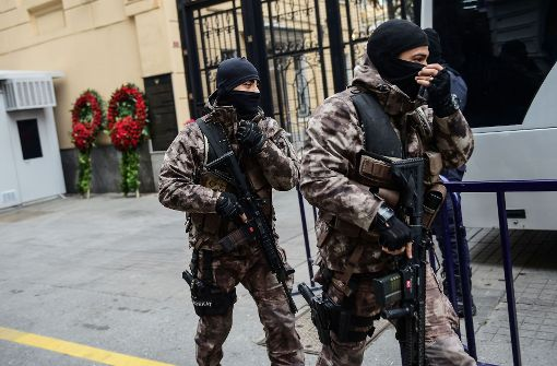 Sie planten einen Anschlag! Zwei mutmaßliche Terroristen erschossen