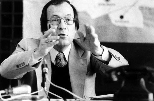 Fast 22 Jahre lang war Manfred Rommel Oberbürgermeister von Stuttgart. Heißt nun bald der Flughafen nach dem verehrten OB, der am Donnerstag starb? Foto: dpa