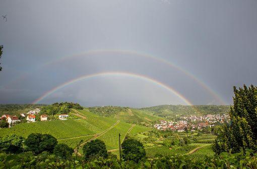 So entstand der doppelte Regenbogen