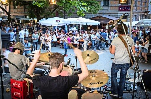 Seit Freitag und noch bis Sonntag wird im Heusteigviertel das beliebte Straßenfest gefeiert. Foto: