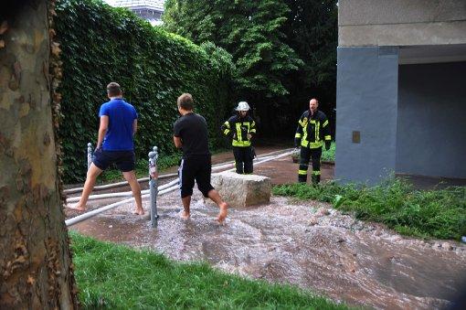 Wasserrohrbruch sorgt für Aufregung