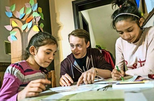 Chance für  Kinder aus den Armenvierteln: Im Familienzentrum St. Konstantin gibt es warmes Essen, Hilfe bei den Hausaufgaben und Platz zum Toben. Foto: Concordia/Thomas Wagner