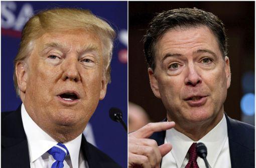 James Comey rechnet mit Donald Trump ab