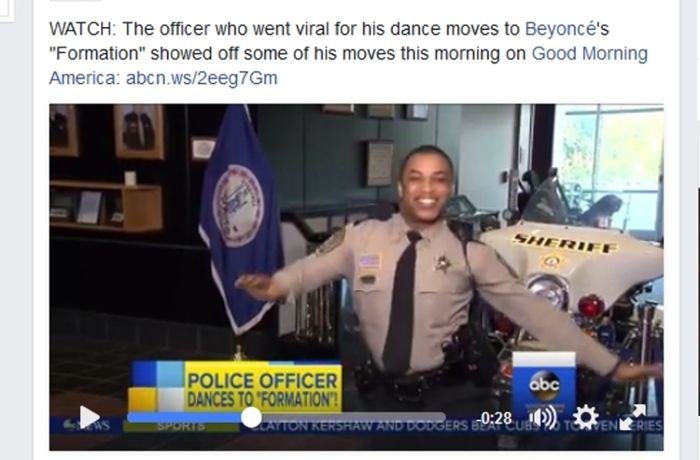 Virales Tanz-Video zu Beyoncé-Hit: US-Polizist begeistert mit Beyoncé-Moves