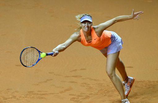 Maria Scharapowa verpasst das Finale in Stuttgart