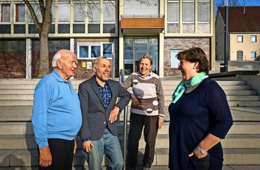 Aktiv für  ihren Ortsteil: Werner Hartwig, Roland Schmierer, Anne Merath und Claudia Böhm (von links). Foto: factum/Granville