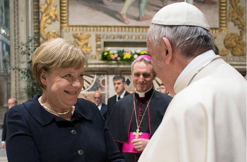 Papst redet EU ins Gewissen