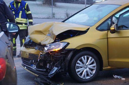 Zusammenstoß bei Aichelberg fordert Schwerverletzte