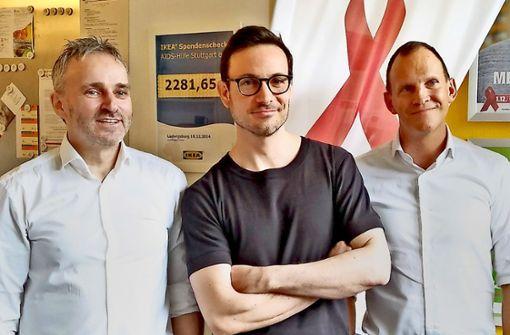 Eric Gauthier wird Schirmherr der   Aids-Hilfe