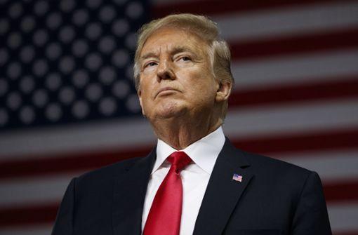 Präsident Donald Trump musste eine herbe Niederlage einstecken. Foto: AP