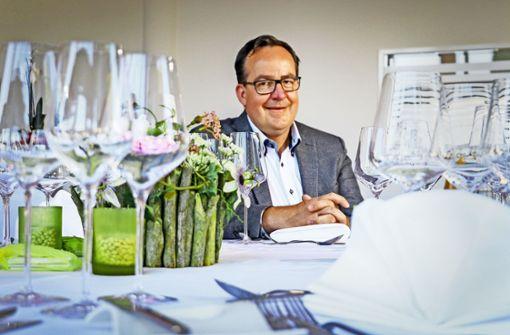 Besuch beim neuen Gastro-Chef des Forums am Schlosspark