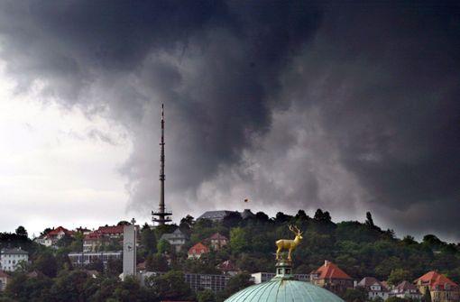 Wetterdienst warnt vor Unwetter mit Orkanböen