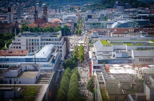 Flut neuer Baustellen in der City