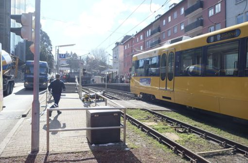 Kaputte Oberleitung bremst Stadtbahnen aus