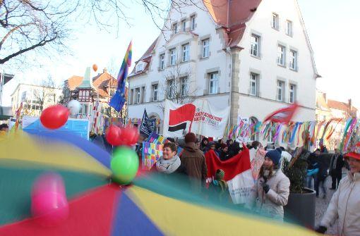 Tanzender Protest gegen die AfD