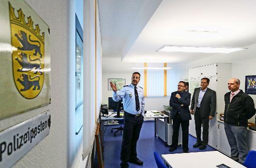 Neuer Polizeiposten eingeweiht