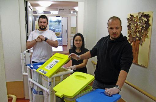 Schüler leiten 14 Tage lang eine Pflegestation