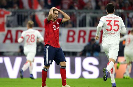 Düsseldorf hat in München einen Zwei-Tore-Rückstand aufgeholt. Foto: Bongarts