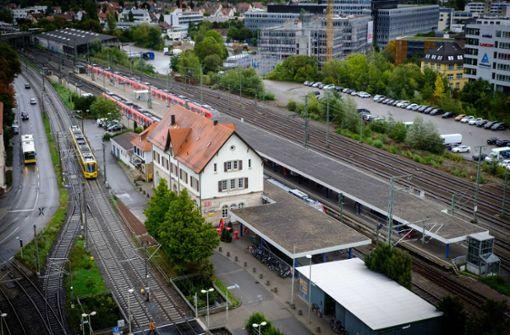 Die Stadt will das Bahnhofsumfeld aufwerten