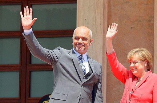 Merkel sichert deutsche Unterstützung zu