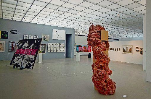 """""""Die Kunst ist tot"""", behauptet Thorsten Schuberth. Doch die WKV-Schau beweist das Gegenteil. Foto: WKV"""