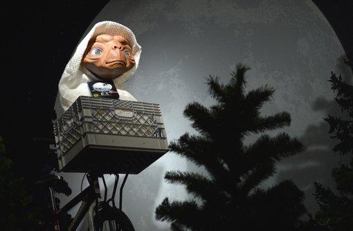"""Sehen so Aliens aus?  E.T., der Held aus """"E.T. – Der Außerirdische"""" (1982),  als Wachsfigur  bei Madame Tussauds in Berlin Foto: dpa"""