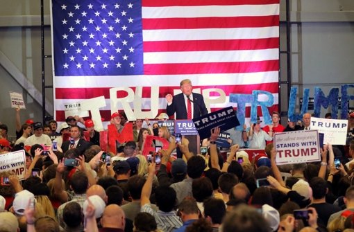 Donald Trump holt sich einen Sieg nach dem anderen. Foto: Lichtgut/Achim Zweygarth