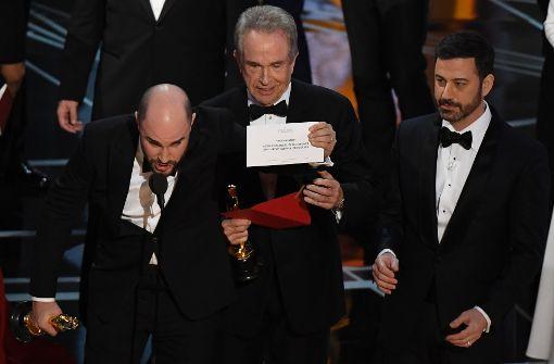 Falscher Film als Gewinner ausgerufen