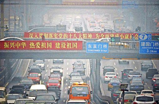 Wegen des starken Smogs in seinen Städten forciert China die Elektromobilität